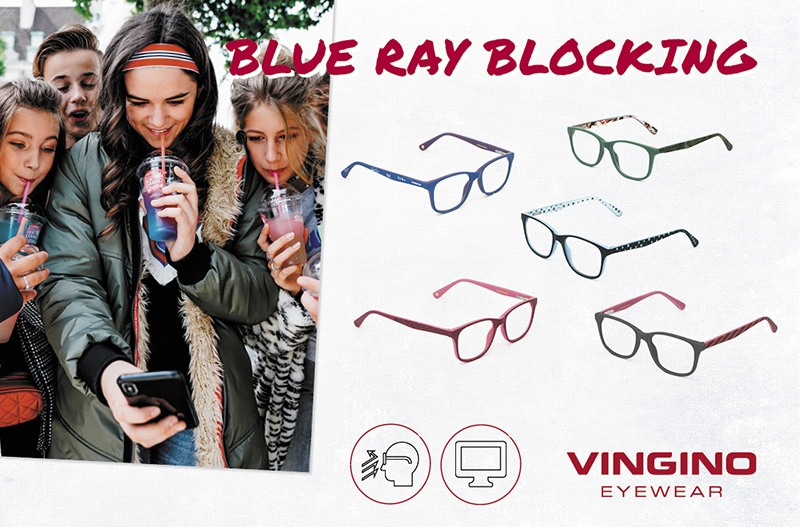 Blue Ray blocking collectie: gemaakt voor de bescherming van kinderogen